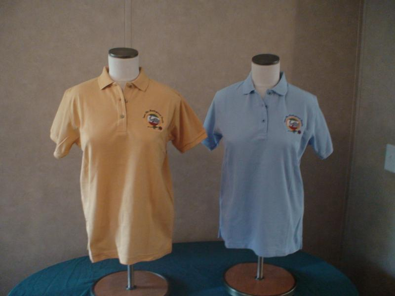 Blue Yello Polo WOMENS